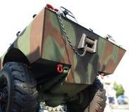 земноводное военное транспортное средство Стоковое Изображение