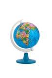 земное изолированное глобусом Стоковое Изображение RF