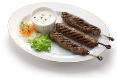 Земное kebab овечки Стоковое фото RF