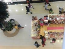 Земной взгляд мола flor от последнего этажа стоковое фото rf