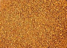 Земной душистый кофе коричневого цвета Стоковые Изображения RF