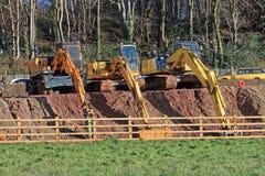 землекопы Стоковые Фотографии RF