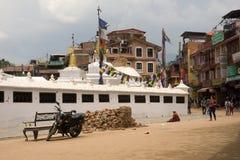 Землетрясение 2015 Непала Катманду Стоковые Изображения RF