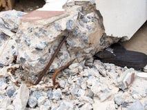Землетрясение Стоковые Фото
