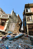 Землетрясения Непала Стоковые Фото