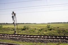 Земледелие около сына Nagar Бихар Индия Стоковое фото RF