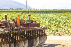 земледелие раньше fields зима ландшафта galilee Израиля северная стоковая фотография
