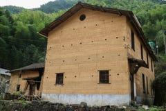 Землистый дом Стоковое Изображение RF
