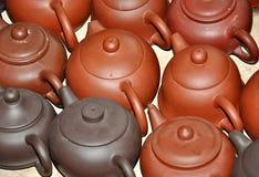 Землистый чайник Стоковые Фотографии RF
