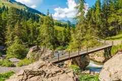 Земли Адельбодена Швейцарии Стоковые Фото