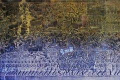 Земли виска Камбоджи стоковое изображение rf