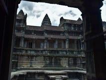 Земли виска Камбоджи Стоковое Фото