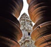 Земли виска Камбоджи стоковая фотография rf