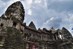 Земли виска Камбоджи стоковые фотографии rf