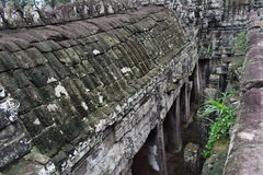 Земли виска Камбоджи Стоковое Изображение