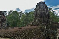 Земли виска Камбоджи стоковое фото rf