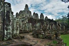 Земли виска Камбоджи стоковые изображения rf