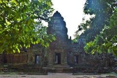 Земли виска Камбоджи Стоковые Фото