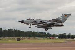 Земли торнадо Luftwaffe немца на RIAT Стоковые Фото