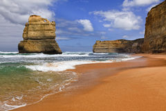 Земля апостола пляжа 1 ГОРА Гибсона Стоковая Фотография RF
