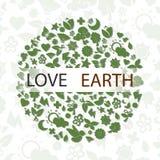 Земля влюбленности иллюстрация штока