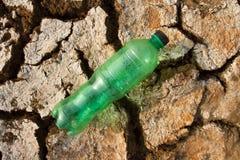 Земля жажды сухая Поверхность планеты чужеземца Стоковые Фото