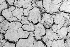 Земля засухи, треснутая земля Стоковое Изображение RF