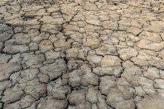 Земля засухи, треснутая земля Стоковое фото RF