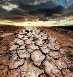 Земля засухи Стоковое фото RF