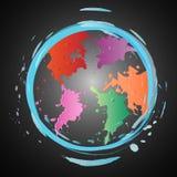 Земля искусства Стоковое Изображение RF