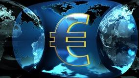 Земля и евро бесплатная иллюстрация