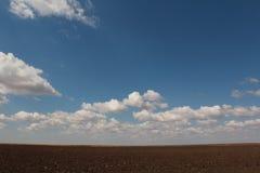 Земля и небо Стоковые Фотографии RF