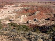 Земля Навахо в Аризоне стоковые изображения
