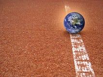 Земля нет пока вне (3) Стоковое Изображение