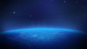 Земля от космоса иллюстрация штока