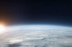 Земля от космоса Стоковые Фотографии RF