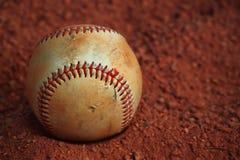 Земля песка бейсбола стоковые фото