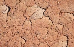Земля предпосылки droughs Стоковое Изображение