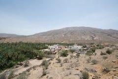 Земля пустыни Омана Стоковое Фото