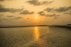Земля Солнця и отражения Стоковая Фотография RF