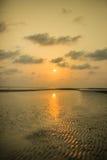 Земля Солнця и отражения Стоковое Фото