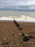 Земля с выплеском моря и цвета воды Стоковое фото RF