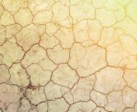 земля треснутая предпосылкой Стоковое Изображение RF