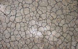 Земля треснутая структурой Стоковая Фотография RF