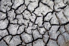 Земля треснутая текстурой Стоковое фото RF