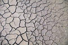 Земля треснутая текстурой Стоковые Фотографии RF
