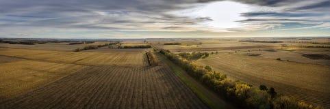 Земля урожая осени Стоковая Фотография RF