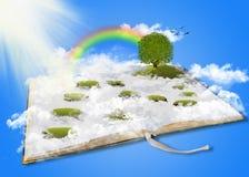 Земля фантазии, мечт земля, страна чудес Стоковая Фотография RF