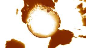 Земля 3D акции видеоматериалы