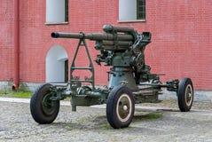 Зенитная пушка Стоковые Изображения RF